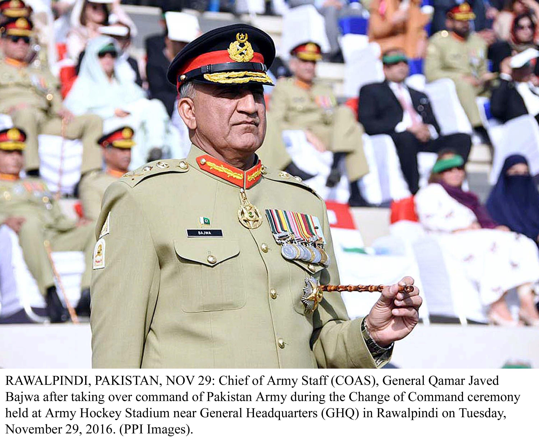 army chief general qamar javed bajwa photo ppi