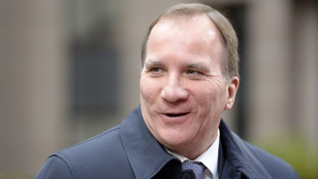 in this file photo sweden 039 s prime minister stefan lofven arrives for a summit on relations between the european union and turkey and on managing the migration crisis on november 29 2015 in brussels photo afp
