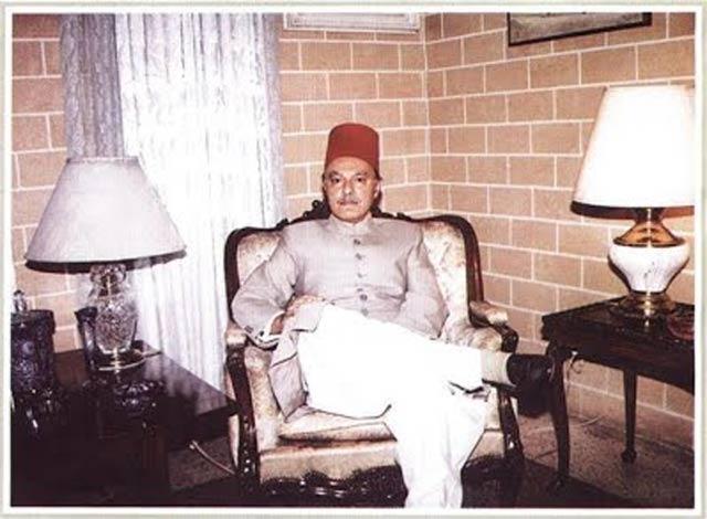 nawab salahuddin abbasi of bahawalpur photo courtesy peshawar stamp society