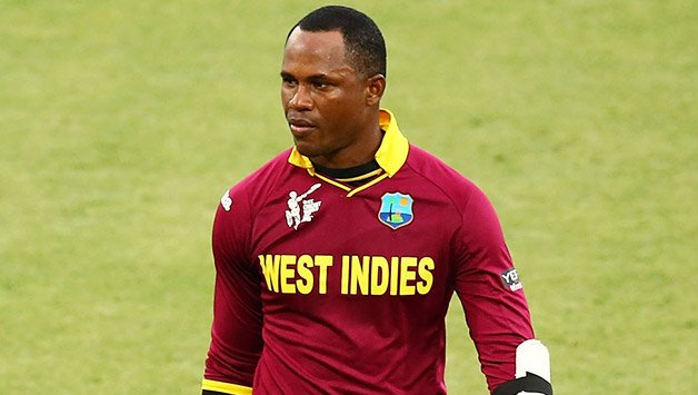 samuels will not feature in the three match series at home photo courtesy icc