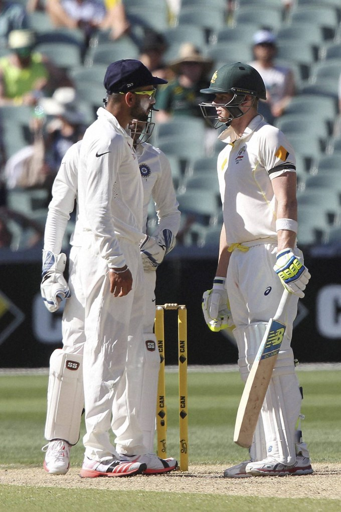 kohli l and smith face off in four test series starting this week photo afp