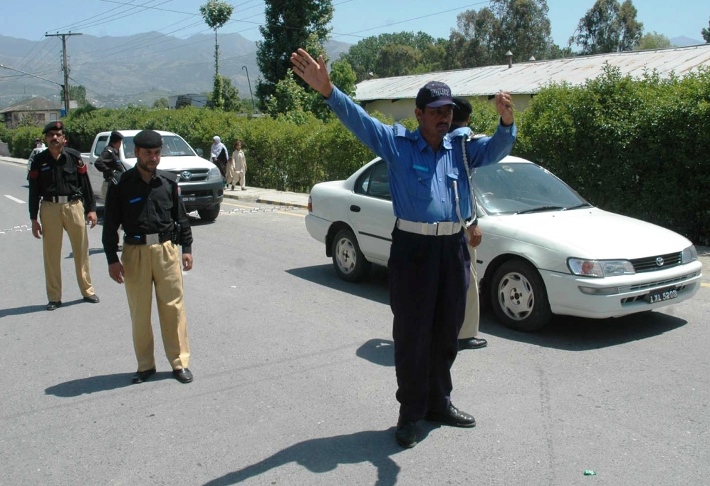 officers recruited by pml q govt have never be promoted since force s inception photo inp file