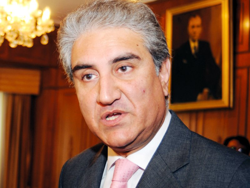 shah mehmood qureshi says islamabad should take stern action to eliminate terrorists photo afp