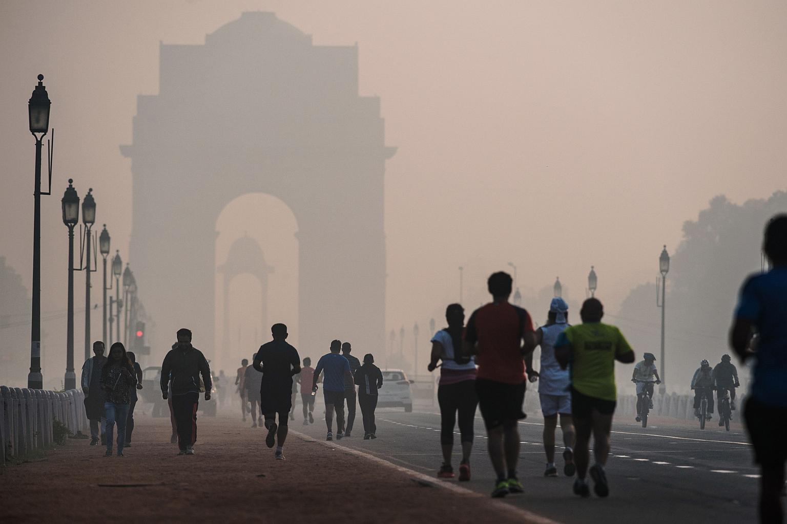 delhi is ranked the world s most polluted capital according to who photo afp