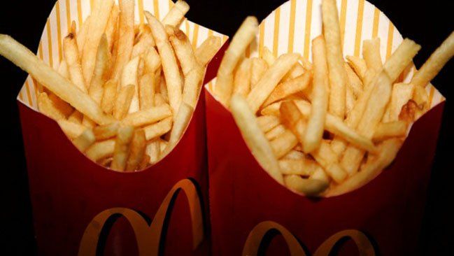 mcdonald s fries are not made to order hence the occasional soggy portion photo reuters