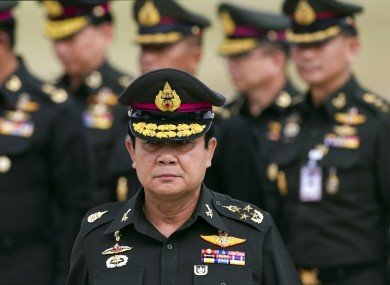 thai junta chief prayut chan ocha photo afp