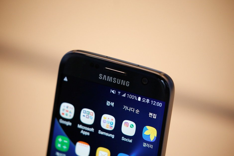 samsung is expected to unveil the smartphone next month photo reuters