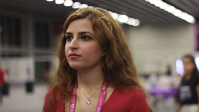 18 year old dorsa derakhsani was kicked off the iranian national chess team after she didn 039 t wear the compulsory hijab during a tournament photo powerplaychess youtube