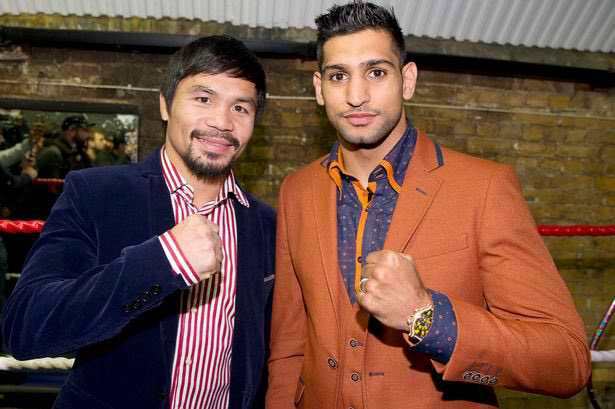 both boxers are in negotiations after weeks of conflicting reports photo courtesy twitter mannypacquiao