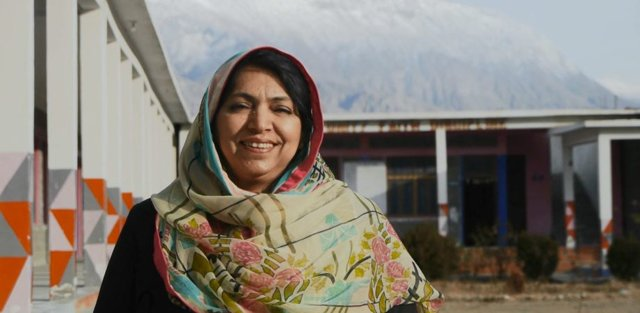 salima begum was selected among 20 000 applications from around the world photo via global teacher prize