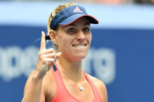 kerber will dethrone serena williams if she wins dubai tennis championships photo afp