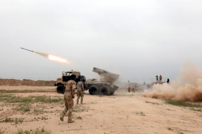 the ongoing offensive in mosul by iraqi forces is paying dividends photo reuters