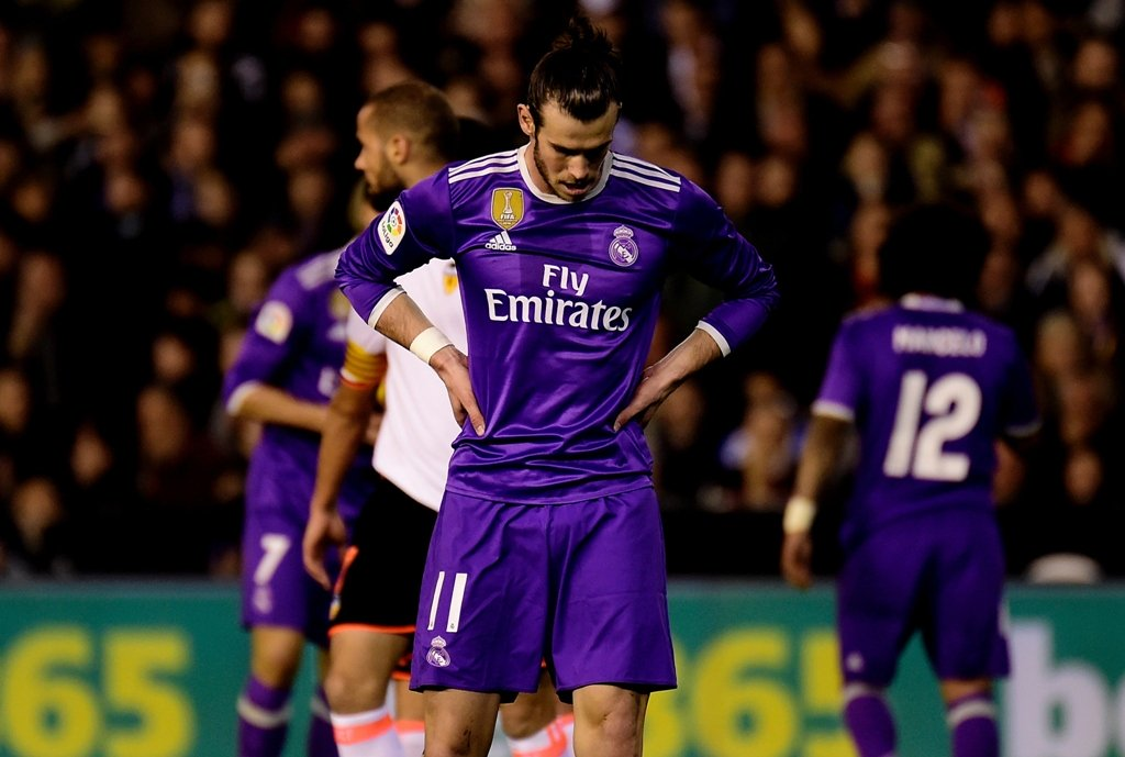 real suffered second defeat of the season photo afp