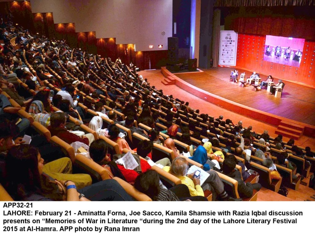 fate of lahore literary festival hangs in balance
