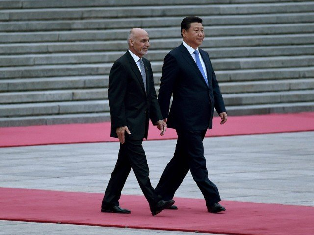 afghan president ashraf ghani with chinese president xi jinping photo reuters