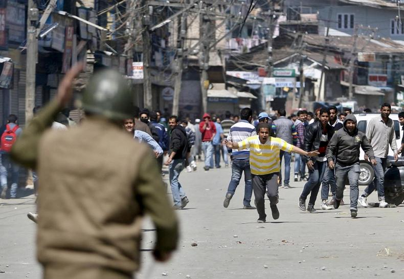 a file photo of a protest in indian occupied kashmir photo reuters