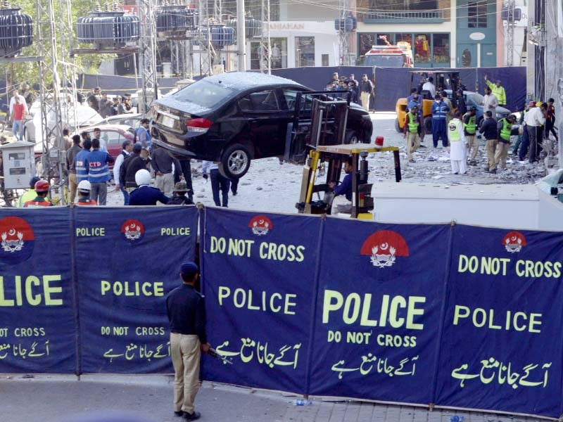terror or accident mystery explosion wrecks lahore cafe