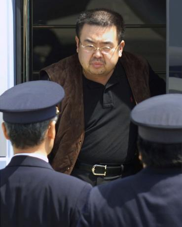 vx nerve agent found on kim jong nam face malaysia police