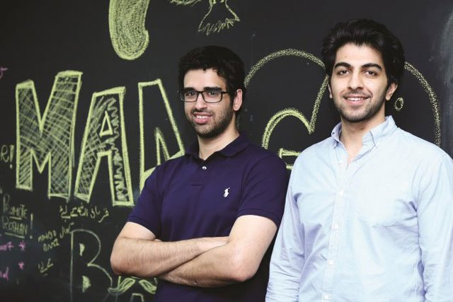 ali gul left and ali ahsan right co founders of mangobaaz photo courtesy mangobaaz