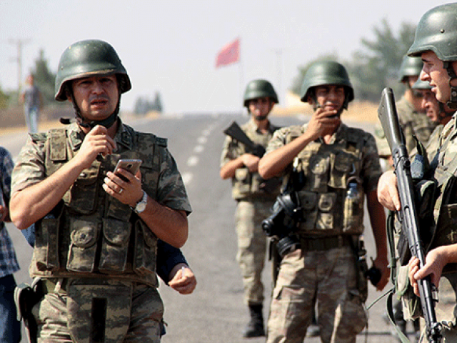 a file photo of turkish soldiers photo reuters