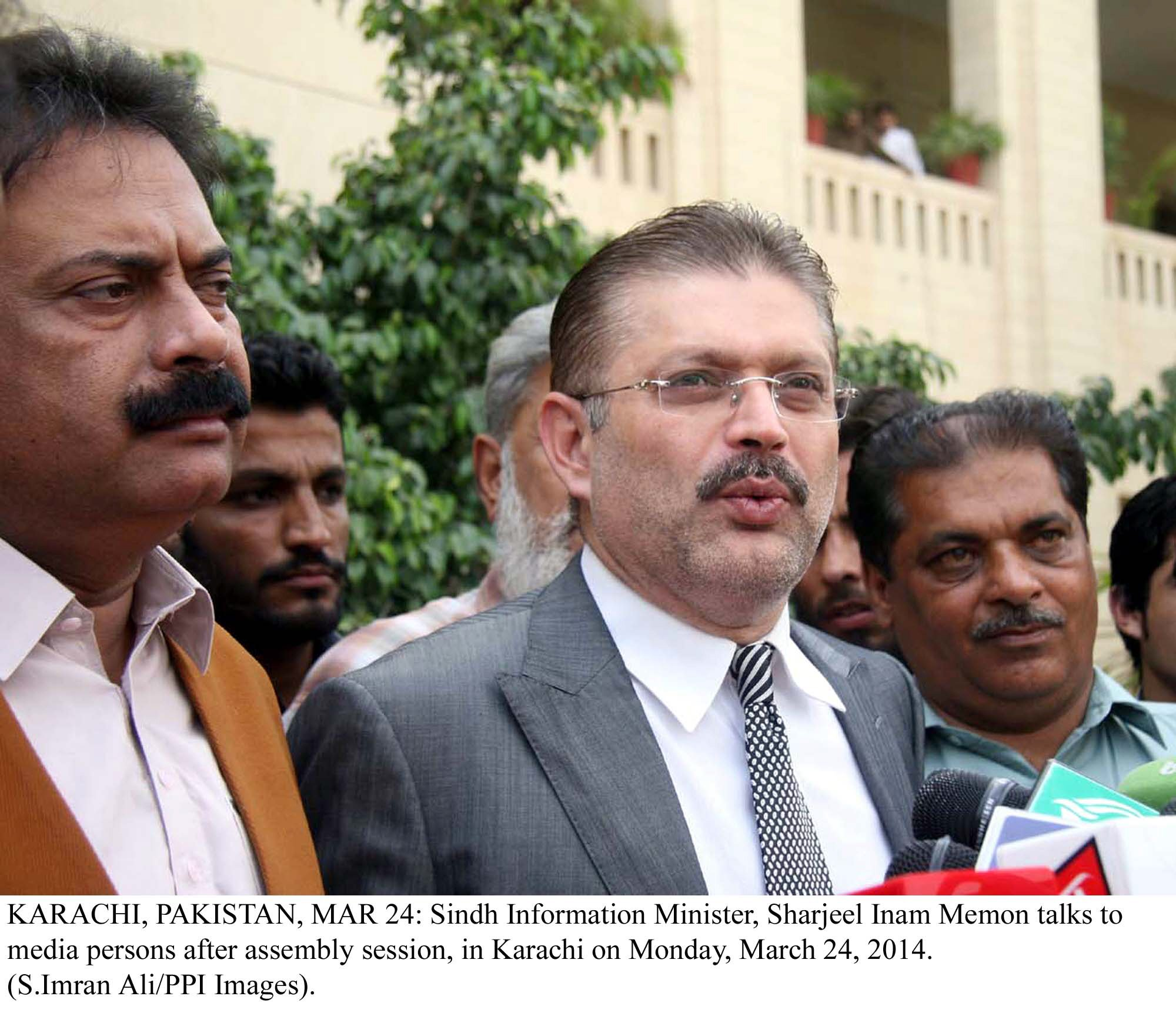 sharjeel memon had fled to london and then dubai following a crackdown against corrupt officials and politicians in sindh by nab photo ppi