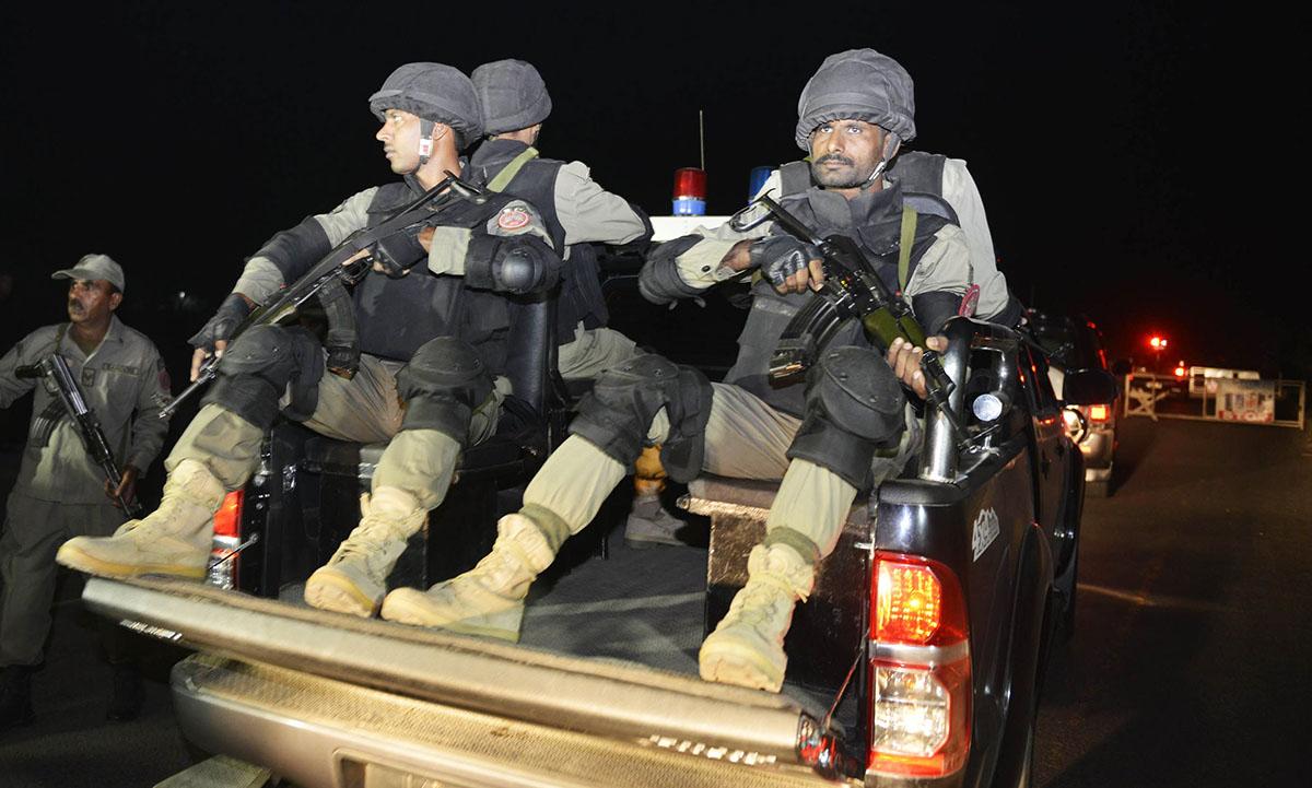 cm shehbaz orders acceleration of counter terror raids photo afp