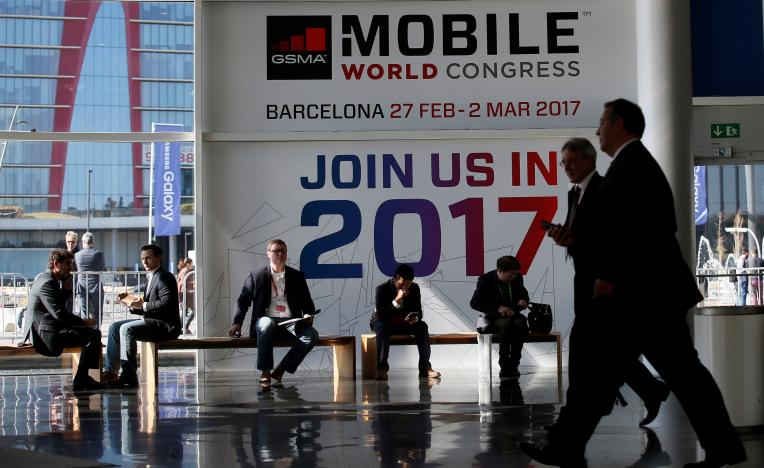 europe 039 s largest annual technology fair will see top phone companies parading far reaching business makeovers photo afp