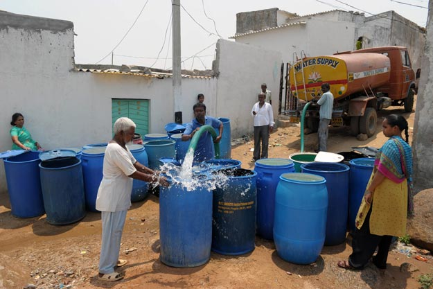 the judicial commission was set up by the supreme court to investigate claims of poor sanitation conditions and lack of clean water supply in sindh photo afp
