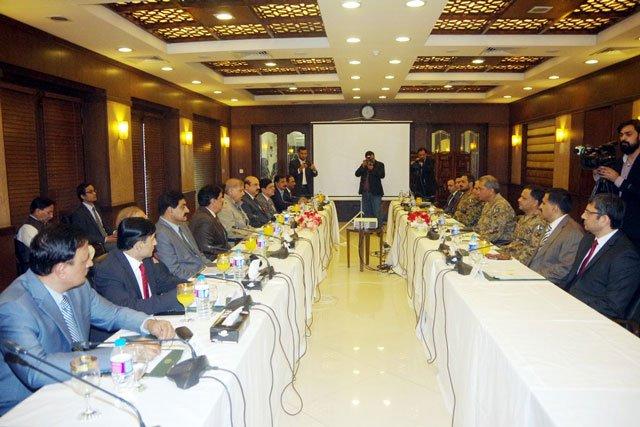 civil military huddle decides to expedite radd ul fasaad in punjab