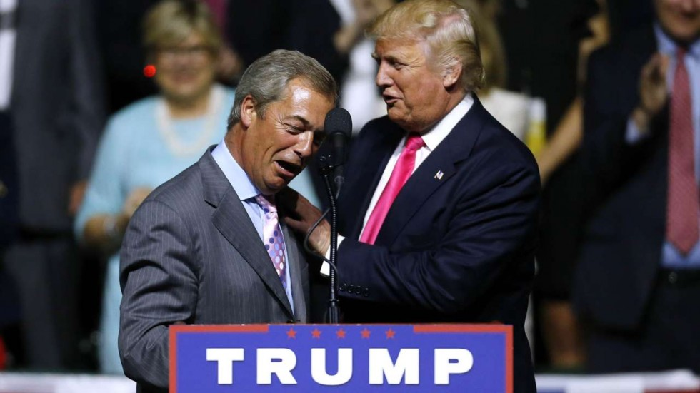 farage met the president in november and has offered his services as britain 039 s ambassador to the us photo afp