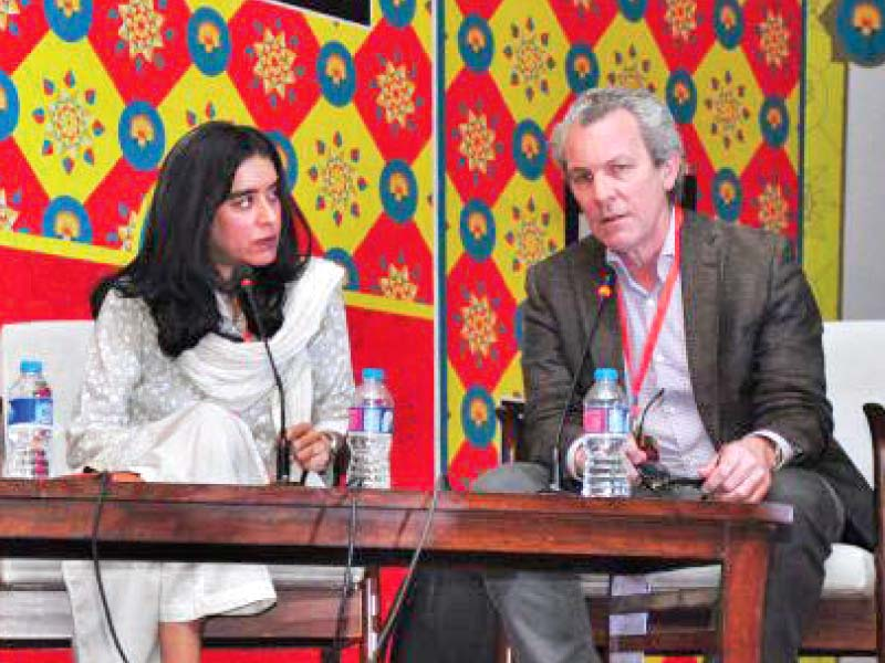 nermeen sheikh and max rodenbeck at the today in fake news session photo express