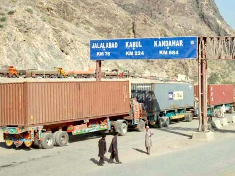border closures and tense political relations hit the economy of both countries photo file
