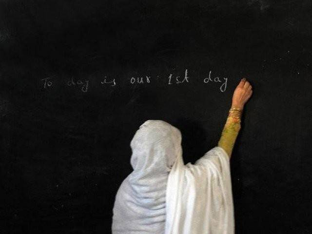 teachers given a one time promotion in 2011 have not been promoted since photo afp