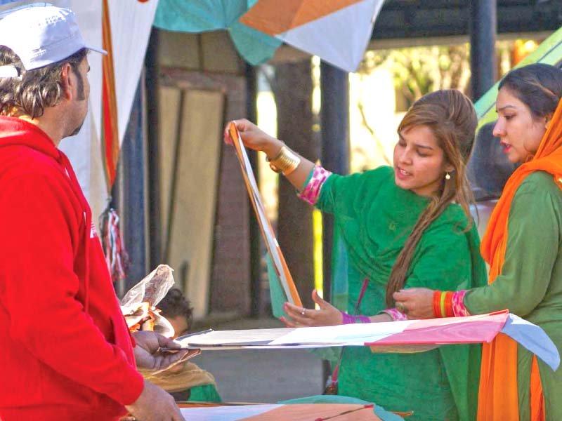 basant celebrations song competition at lok virsa