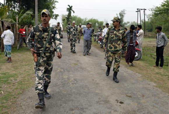 a file photo of indian security officers in assam photo reuters file