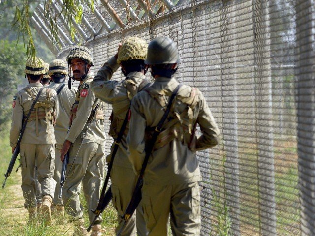 according to reports firing has been going on since 9am pakistan befittingly responding to indian unprovoked firing photo afp