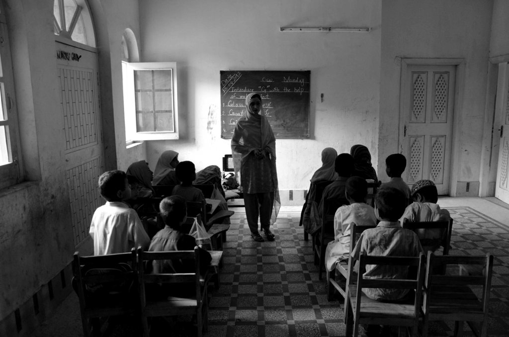 the school administration is hoping to get uniforms for the kids apart from teaching other classes photo farah khan