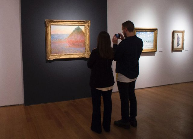 top dollar auctions last year included that of an impressionist painting of a haystack by claude monet quot meule quot which sold for 81 4 million at christie 039 s photo afp