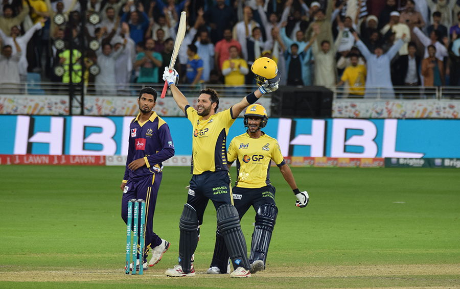 peshawar captain believes two wicket win against gladiators has lifted morale photo courtesy psl