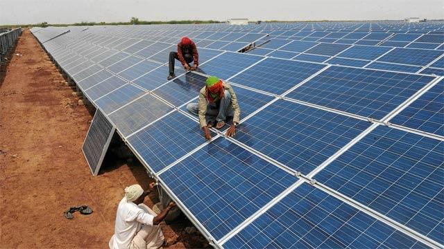 ceo ashar aziz pitches solar power as pakistan s solution to power crisis photo afp