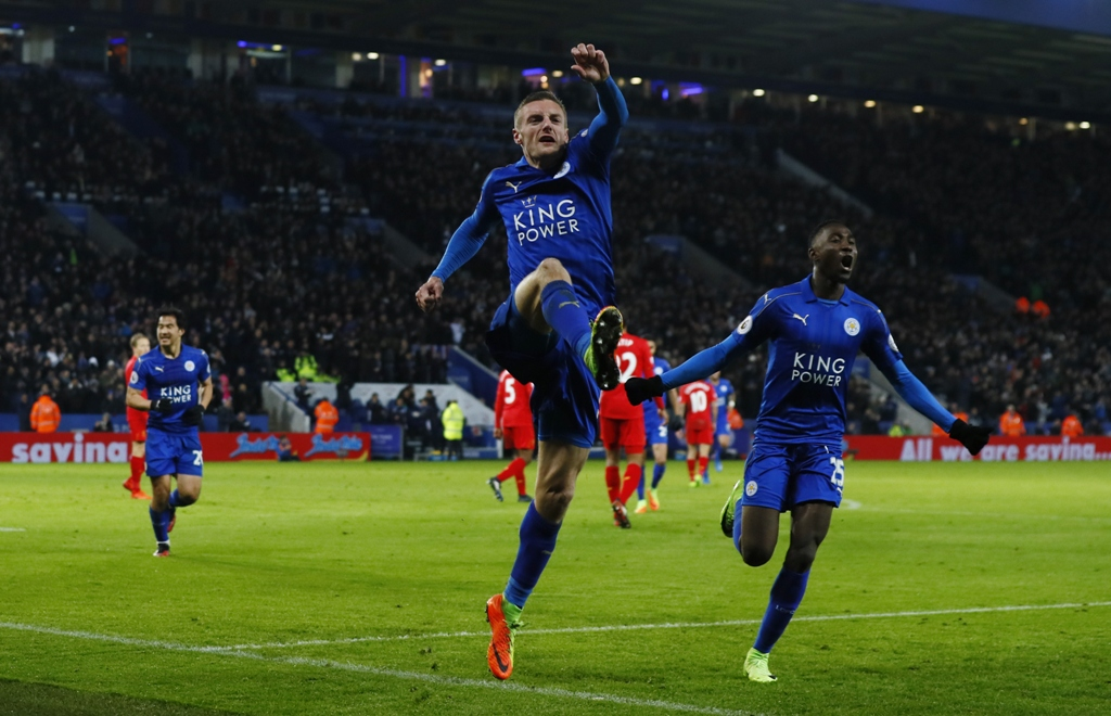 premier league champions return to form with stunning 3 1 victory over liverpool photo reuters
