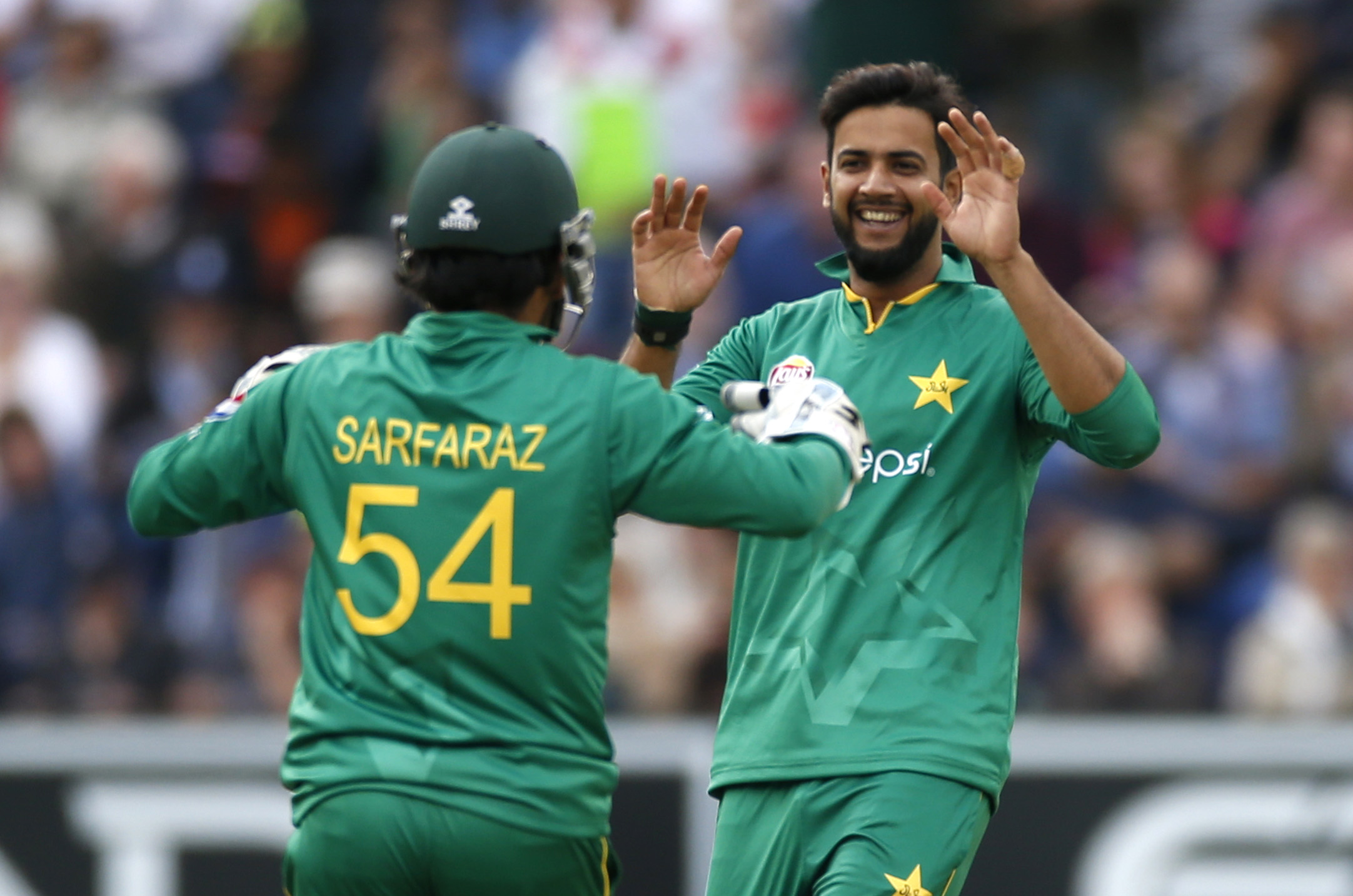 imad wasim also reveals what he thinks about new limited overs captain sarfraz ahmed photo reuters