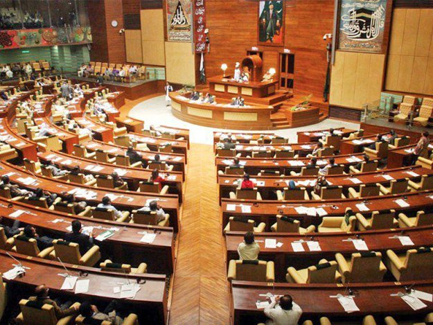 a file photo of sindh assembly in session photo online