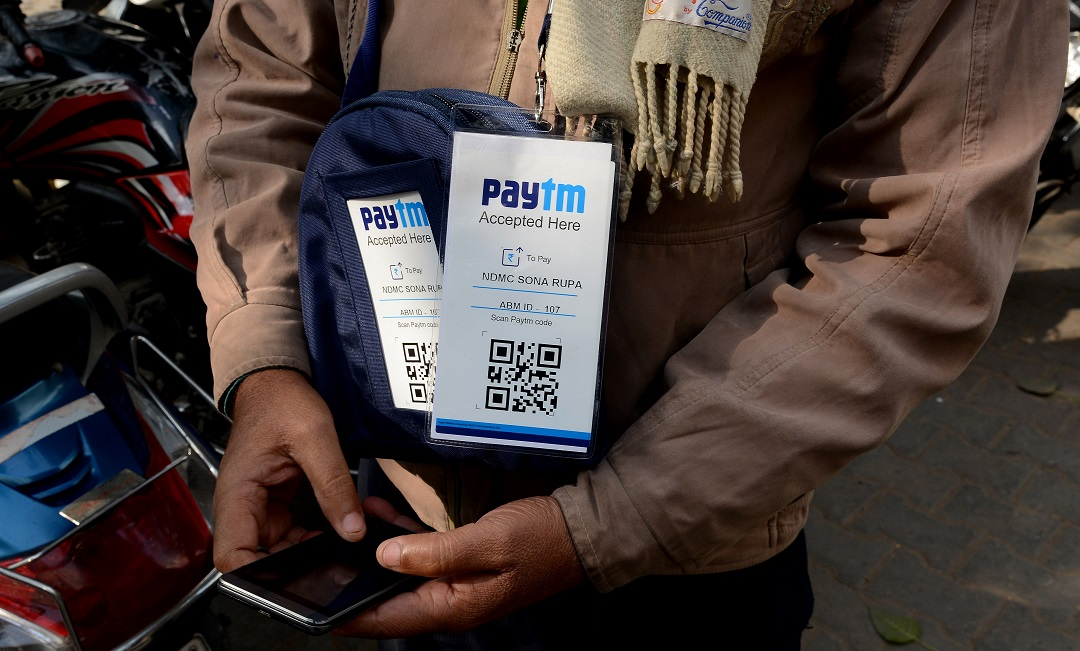 paytm has the largest mobile wallet in the country photo afp