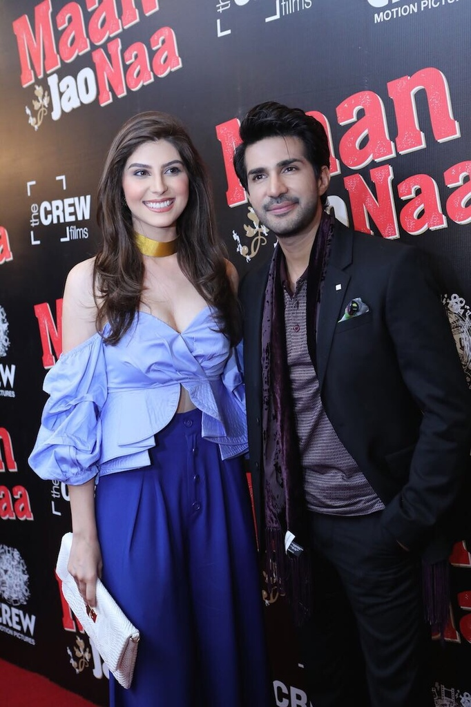 naaz norouzi and adeel chaudhary photo publicity
