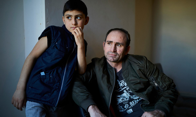 while norzai speaks no english wali who is now enrolled in a british school acts as his interpreter photo the guardian