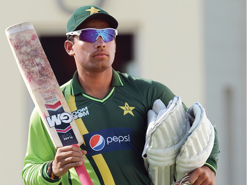 a file photo of pakistani batsman umar akmal photo afp