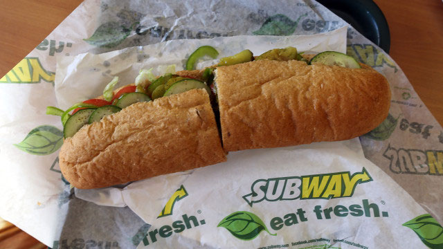 subway disputes study claiming its oven roasted chicken is only 50 per cent chicken