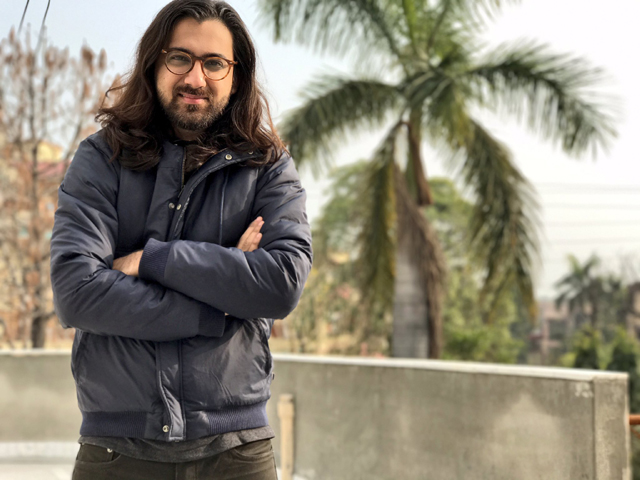 adil awan bet his hair on the outcome of the karachi kings vs islamabad united match photo twitter