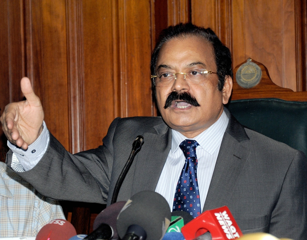 punjab law minister rana sanaullah photo express